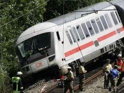 В Германии поезд столкнулся с отарой овец - 23 пассажира пострадали