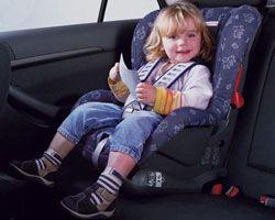 Пошлины на автокресла для детей временно сняты