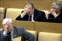 Российские депутаты не вписываются в общемировые тенденции