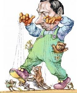Россия осталась без полноценной политической карикатуры