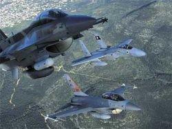 12 самолетов ВВС Израиля пролетели над территорией Ливана
