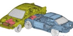 Суперкомпьютеры от Audi для моделирования автомобильных аварий