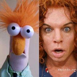 Звезды похожие на кукол из Маппет-шоу (The Muppet Show) (фото)