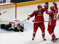 Сборная России по хоккею обыграла канадцев в контрольном матче
