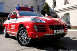 Porsche Cayenne S для пожарных (фото)