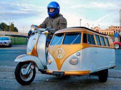 Фантастическое транспортное средство из Европы