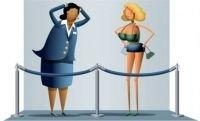 Что не стоит женщинам надевать в самолет