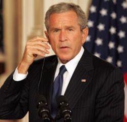 Джордж Буш нашел виновников экономических бед США