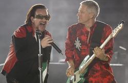 Выступление U2 покажут в кинотеатрах в концентратном исполнении