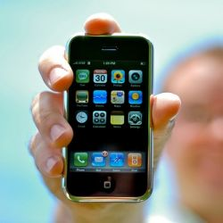 Гигантский iPhone