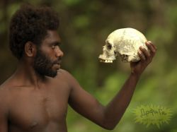 Последние племена каннибалов в Папуа Новой Гвинее (фото)