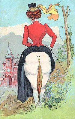 Коллекция старинных рекламных открыток (фото)