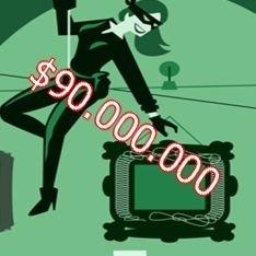 Каков средний размер добычи банковских грабителей?