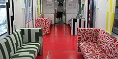 IKEA декорировала поезд японского метро