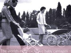 В лондонском универмаге Harrods продали золотую детскую коляску