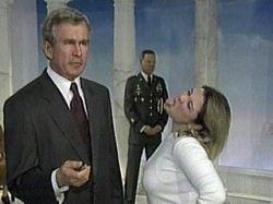 Антирейтинг Джорджа Буша поставил рекорд - теперь он самый  непопулярный президент в истории США