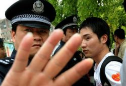 Китайских студентов не выпускают без разрешения на улицу