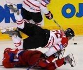 На отборочном этапе ЧМ-2008 по хоккею встретятся сборные России и Чехии
