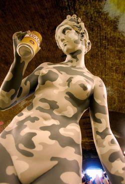 Banksy Underground: британские художники устроили выставку в туннеле (фото)