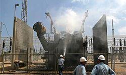 На электростанции Газы выходят из строя турбины
