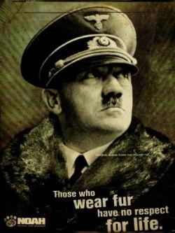Адольф Гитлер в рекламе (фото)