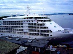 У берегов Латвии на мель сел крупный круизный лайнер