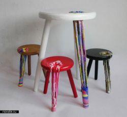 Акварельная мебель (фото)