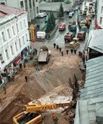 Москва скоро обрушится: две трети подземных коммуникаций в аварийном состоянии