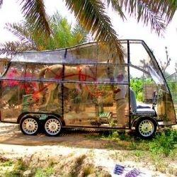 Naturcar - автомобиль, управляемый лошадью (фото)