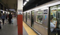 Крушение поезда в Нью-йоркской подземке