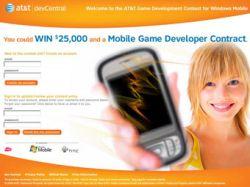 Microsoft и AT&T объявили конкурс на лучшую мобильную игру-самоделку