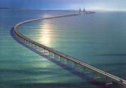 В Китае открыли самый длинный в мире автомобильный мост