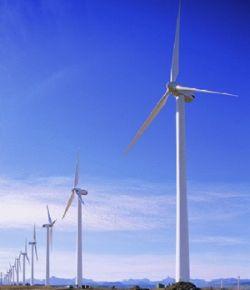 Китай создает крупнейшую в мире базу ветроэлектростанций