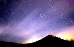 Земля проходит сквозь метеорный поток Eta Aquarids