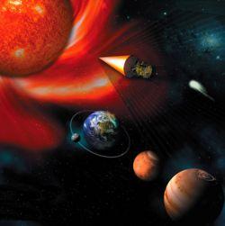 NASA отправит корабль в атмосферу Солнца