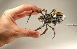 Интересная коллекция скульптур-роботов (фото)
