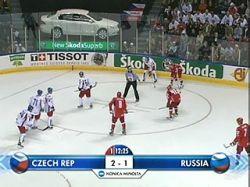 Сборная России по хоккею сыграет с датчанами