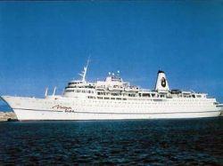 С застрявшего лайнера Mona Lisa сняли всех пассажиров