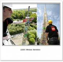 В Великобритании построили самую высокую башню LEGO