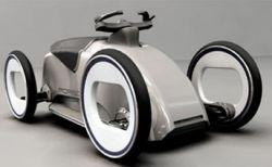 N6 - концепт одноместного транспортного средства от Matteo Gentile
