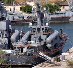 Киев требует отменить юбилейный парад кораблей Черноморского флота