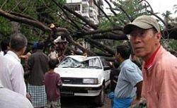 Nasa опубликовало спутниковые снимки разрушений в Мьянме