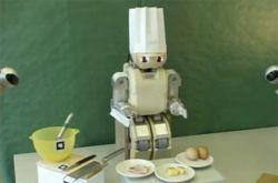 Робот-повар в действии (видео)
