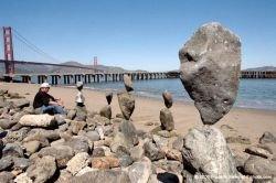Искусство балансировки камней (фото)
