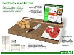 Концепт устройства Smartchef - для любителей вкусно готовить