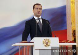 Дмитрий Медведев вступил в должность президента РФ (фото)
