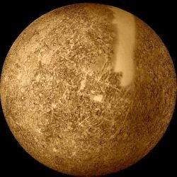 Внутри Меркурия идёт железный снег