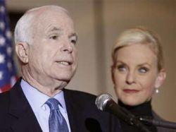 Жена Джона Маккейна отказалась публиковать налоговые декларации