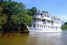 Первое роскошное путешествие по Амазонке