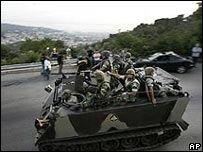 "\""Хезболла\"" заняла большую часть Бейрута"